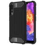 Military Defender Heavy Duty Shockproof Case - Huawei P20 Pro - Black